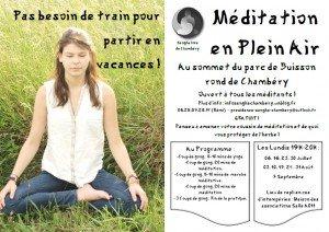méditation d'été 2015